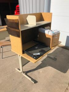 Lot of Office Furniture (2) Typwriters