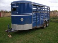 2000 Bison Trailer, VIN # 43B16162XY1002630