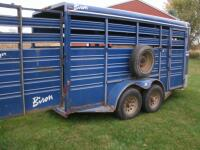 2000 Bison Trailer, VIN # 43B16162XY1002630 - 6