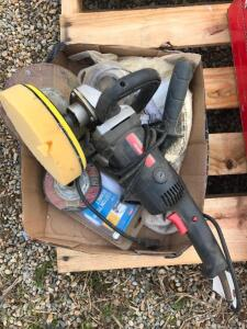 "7"" Polisher/Sander with Attachments"