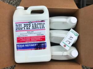 (6) New 1 gal. Jugs of DZL-PEP Arctic with AAT for Diesel Additive