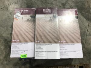 Approx 304 Sq Ft Click Bamboo Flooring Light Taupe