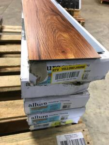 Approx 120 Sq Ft Plank Flooring High Point Chestnut