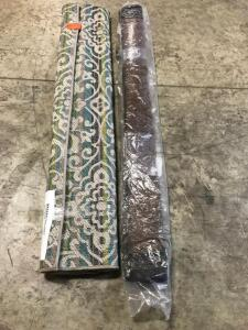 (2) Area Rugs