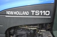 New Holland TS110 Tractor - 17