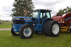 Ford 8730 tractor with duals