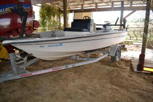 1994 Irvette boat and trailer