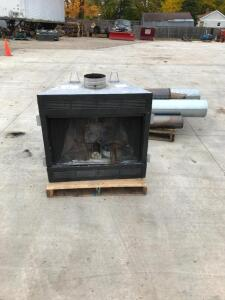 "Gas or Wood Fireplace 8"" Chimney - Blower Works Need Pig Tail"