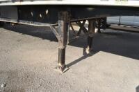 2002 Manac flat bed trailer chemical trailer - 2