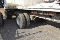 2002 Manac flat bed trailer chemical trailer - 3