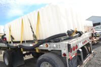 2002 Manac flat bed trailer chemical trailer - 7