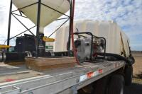 2002 Manac flat bed trailer chemical trailer - 12