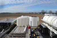 2002 Manac flat bed trailer chemical trailer - 17