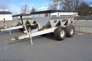 Willmar tandem axle fertilizer spreader