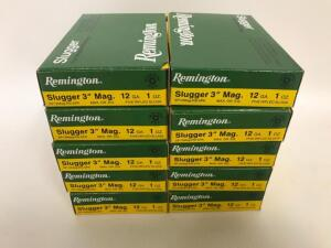"Remington 12GA 3"" Slugs Ammo - 50 rounds"