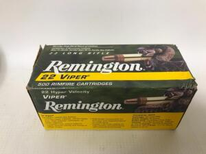 Remington 22LR Viper Truncated 36gr - 500 rounds