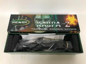 Weaver Kaspa-Z 1.5-6X32mm Tactical Zombie Scope
