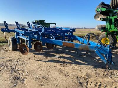 5 Shank Turbo Tiger Deep Tillage Ripper