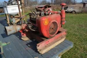Wisconsin Engine Model VH40 on Hale water pump
