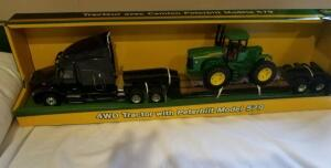 John Deere Toy Tractor with Peterbilt Model 579- Donated by Friend of Optimist
