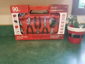 Tool Kit- 90 Piece- Donated by Darrell's Hardware