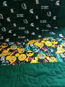 MSU Quilt- Donated by Friend of Optimist