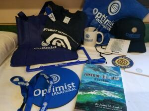 Optimist Kit- Donated by Cathy Pinkos