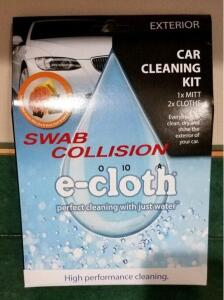 Car cleaning kit- donated by Swab