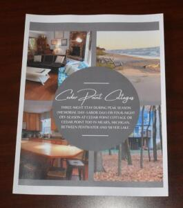 Cedar Point Cottages- 3- Night Stay During Season or 4- Night Stay Off Season