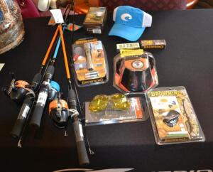 (3) Shur Strike Fishing Rods and Outdoor Accessories- Donated by Total Firearms