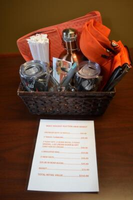 A&W Gift Basket- Growler, Tumblers, Float Kits, Mugs, Spoons, Scoop, Gift Card, Bag, Hats, and More