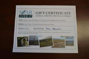 $100 Soar Over It Aerial Drone Photo & Video Gift Certificate- Donated by Shumaker Technology Group