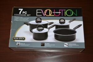 Evolution 7 Piece Cookware Set- Donated by Friend of the Chamber