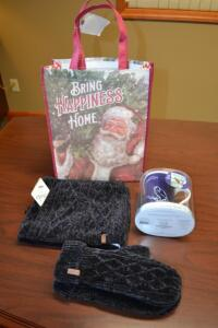 Pudus Gloves, Pudus Neck Warmer and Color Changing Story Mug- Donated by Wares Pharmacy