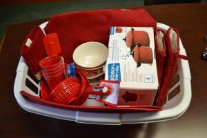 Kitchen Accessories- Strainers, Cups, Mat, Bowls, Mitts and More