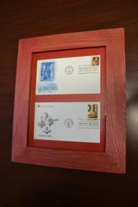 1966 and 1980 First Day of Issue Holiday Stamps- Donated by Mason Firefighters Assn.