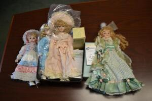 Gently Used Dolls- Donated by Friend of the Chamber