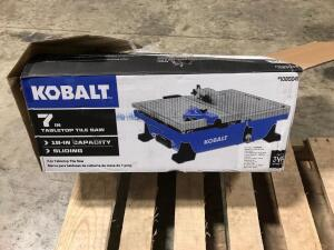 Tabletop Tile Saw