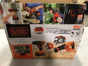 Combo Kit - Drill/Driver, Circular Saw, Reciprocating Saw and LED Light