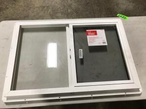 Vinyl Slider Utility Window