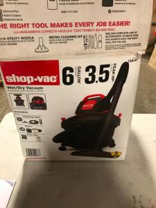 Wet/Dry Shop Vac