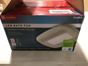 Ventilation Fan with LED Light