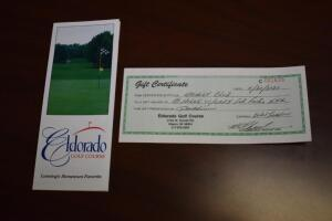 Eldorado Golf Course- 18 Holes with Cart for 4 People- Donated by Eldorado Golf Course