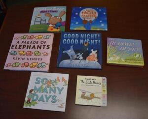 Children's Books (0-4 year old)- Donated by Capital Area District Library