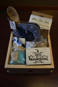 Michigan Box- Hand Towel, Wood Spoon, Candle, Socks, Oven Mitt and More