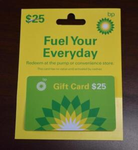$25 bp Gift Card- Donated by Friend of the Chamber
