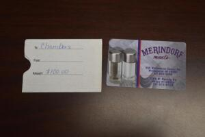 $100 Merindorf Meats Gift Card- Donated by Merindorf Meats