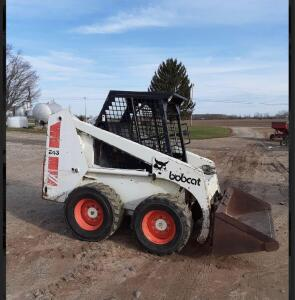 Bobcat 840 Skid Steer