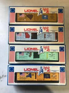 Lionel Part of America's History Train Spirit of `76