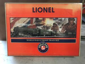 World War II Troop Train Set